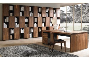 NORYA AMERICAN WALNUT BOOKCASE