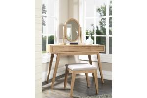 Milano American Oak Dressing Table