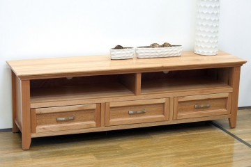 Denvor 1.8 Solid Oak TV Cabinet