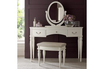 Bordeaux Ivory white Dressing Table