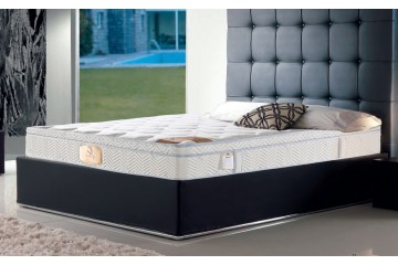 Luxurious Dual Side Pocket Spring Mattress with Latex Pillowtop