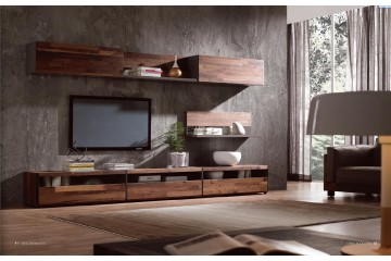 NORYA American Walnut TV Unit (1100mm)
