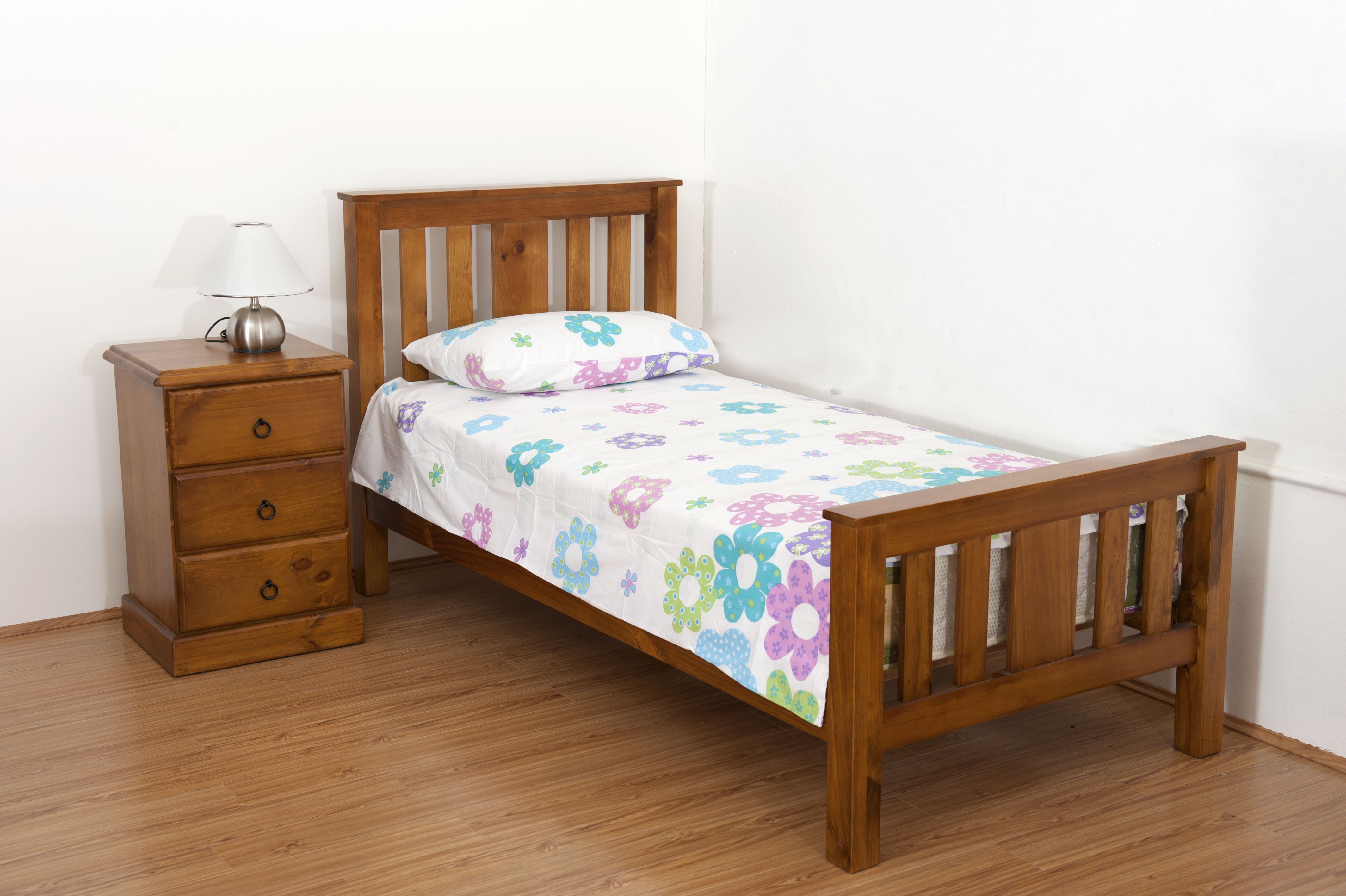 Solid Wood Furniture Carrington Kingsingle Bed (Solid Timber). Full resolution‎  photo, nominally Width 4256 Height 2832 pixels, photo with #70411E.