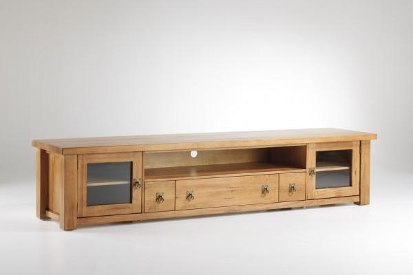 Cockatoo 2.4 Solid Oak TV Cabinet