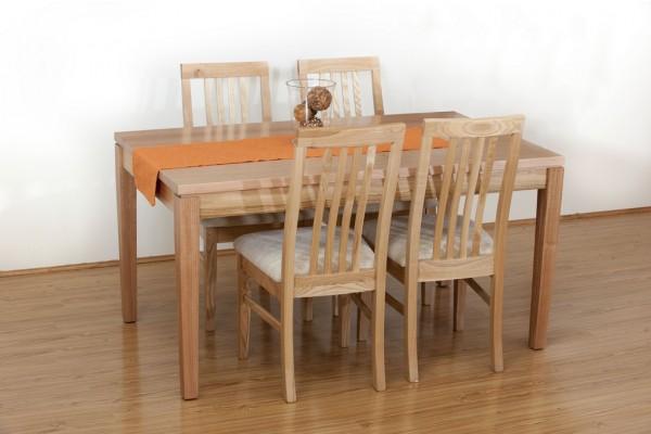 Franklin Tasmanian Oak Dining Suite 5 pcs (1500x900mm)