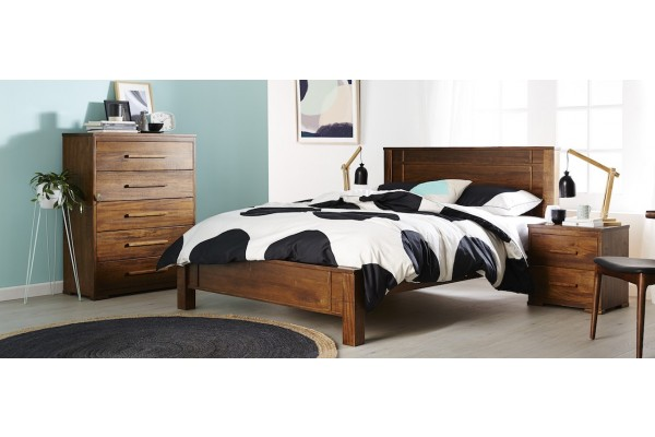 Paddington Solid Hard Wood Bedroom -Queen and King