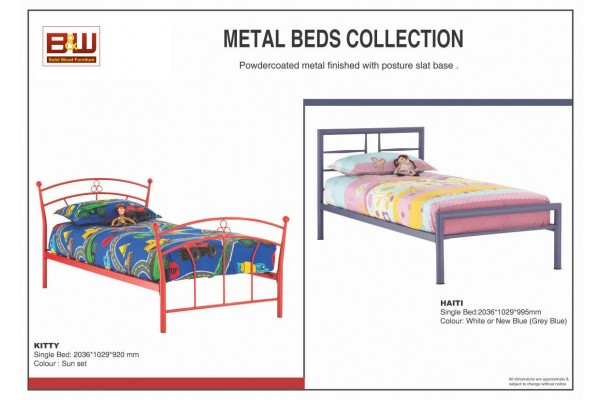 METAL COLLECTION Single Size Bed