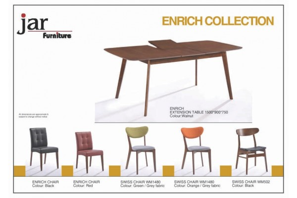 ENRICH  Extension Dining Table (1500-1900mm)