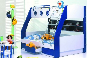 Casetti Bunk Bed with 3 Drawers (Double to Single)