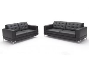 Milan Full Leather 3+2 Seater Sofa