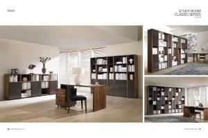 NORYA American Walnut Office Table/Desk