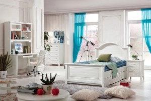 MARIMBA KIDS BED WITH SINGLE TRUNDLE (SINGLE AND KINGSINGLE AVAILABLE)