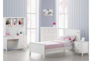 Rikki Bed Frame (King Single and Single size available), Solid Hard Wood