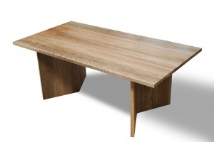 Metropolis Spotted Gum Dining Table