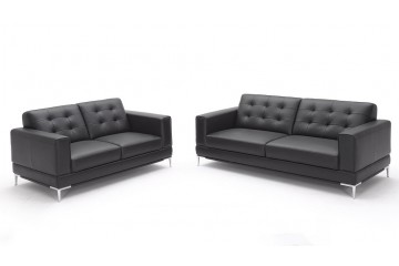 Milan Full Leather 3+2 Seater Sofa
