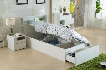 EDGE KIDS BED WITH GASLIFT STORAGE ( SINGLE AND KINGSINGLE AVAILABLE)