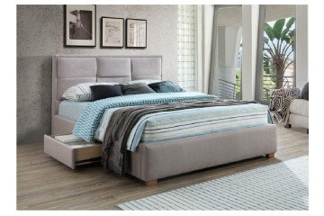 Kingston Queen Bed with Side Storage Drawers  2