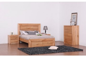 Lyon Solid Oak Bedroom Suite