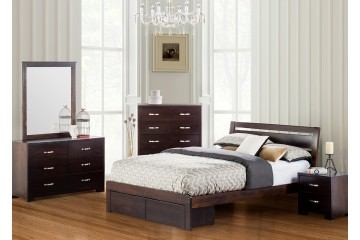 Montana Solid New Zealand Pine Bedroom - All sizes available