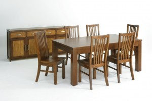 Urban Dining Suite (Solid New Zealand Pine)