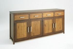 Urban 4 Door Buffet, Solid Timber