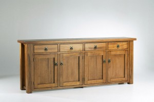 Cockatoo 4 Door Buffet (Solid Tasmanian Oak)