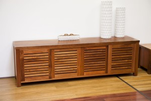 Bronte Blackwood TV Cabinet