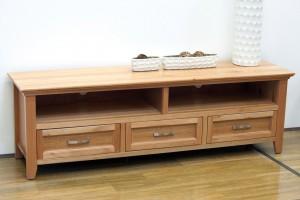 Denvor 1.8 Solid Oak TV Cabinet