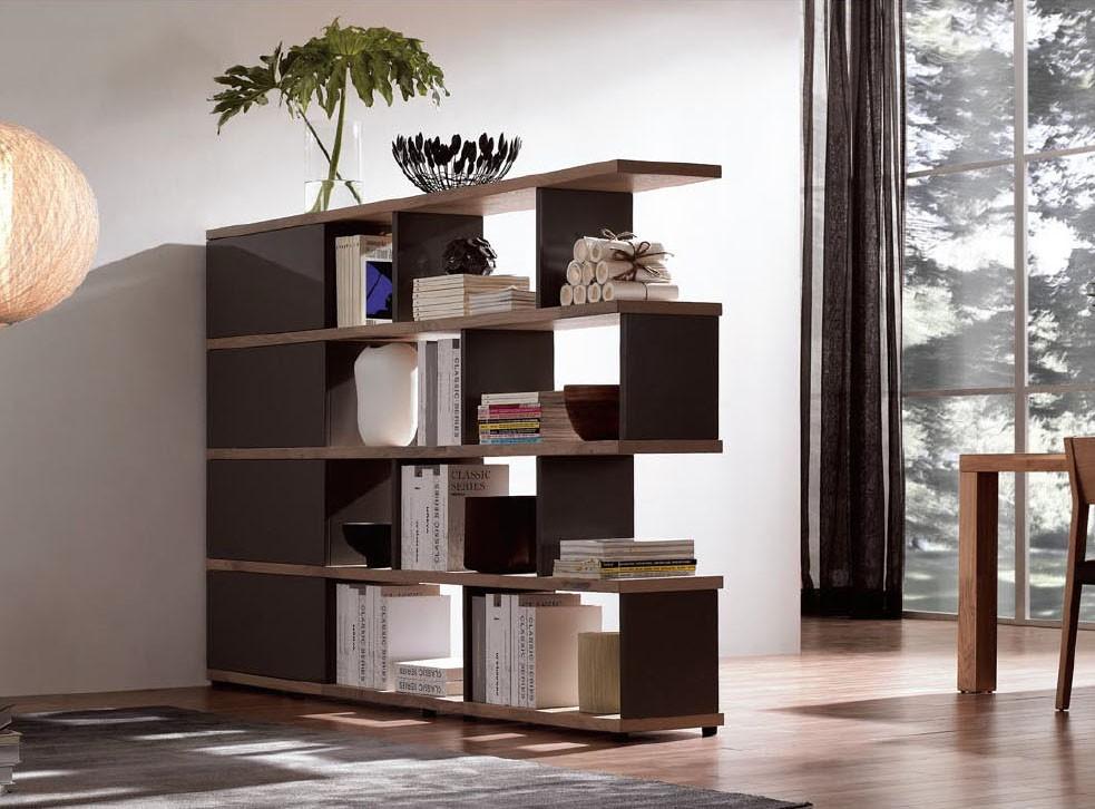 NORYA American Walnut bookcase/room divider