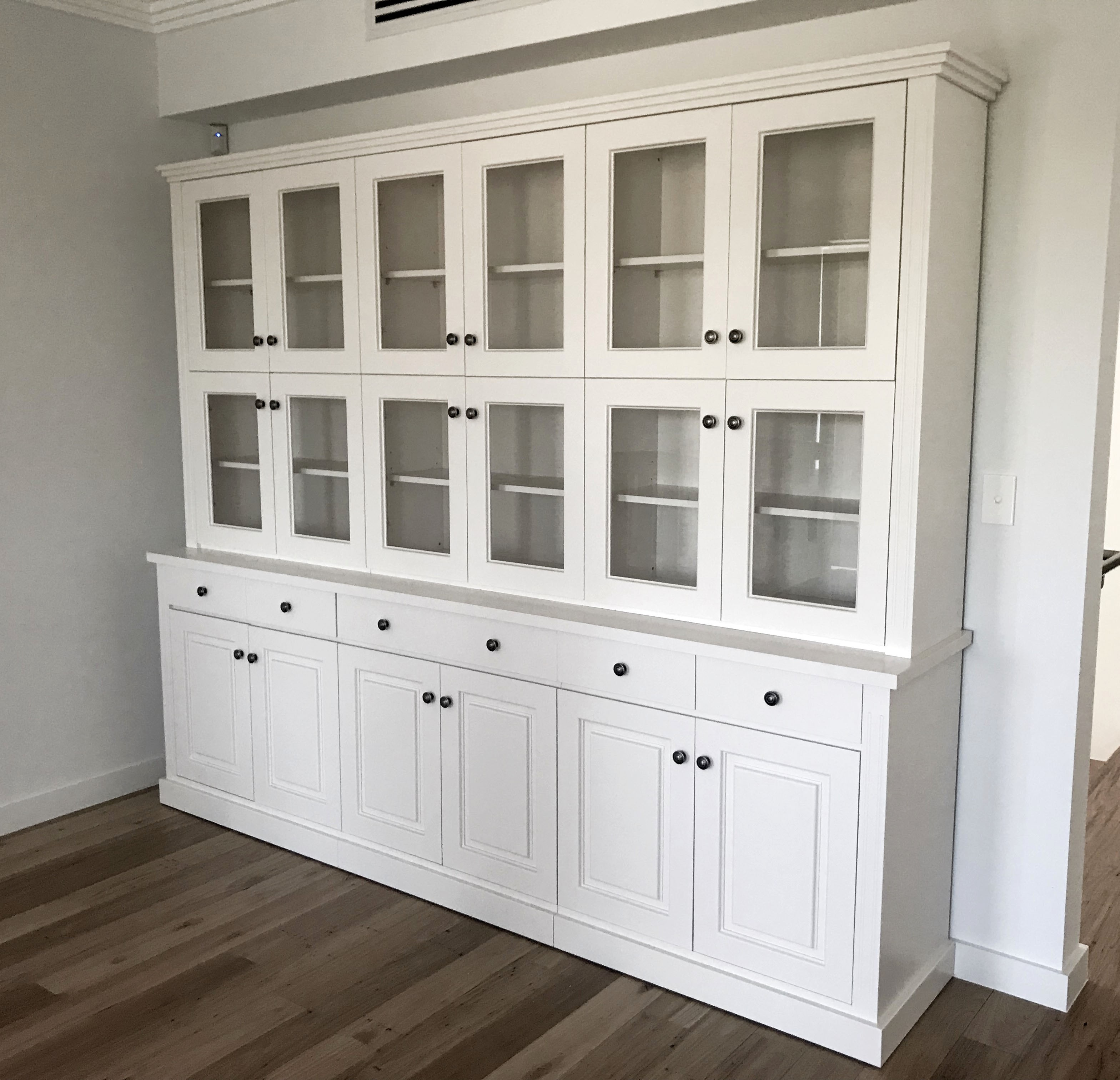 Australia Made Bronte Bookcase, Antique White