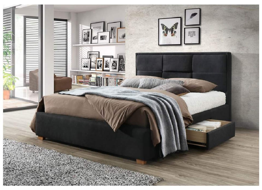 Kingston Queen Bed with Side Storage Drawers