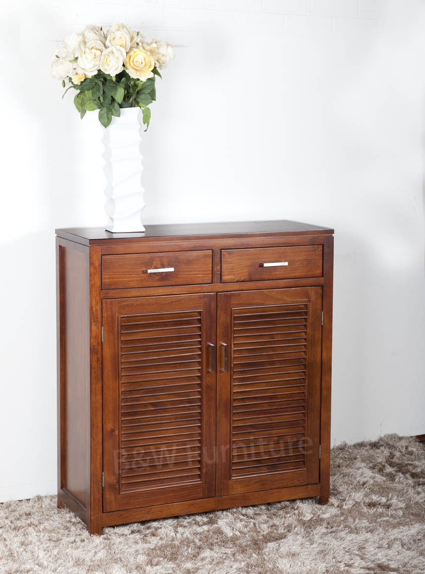 Urban SoildWood Shoe Cabinet
