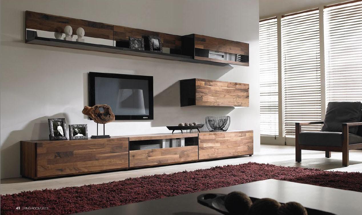 buy popular ebe6c bce90 B & W Solid Wood Furniture - Norya American Walnut TV Unit ...